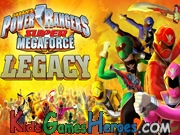Play Power Rangers Super Megaforce - Legacy