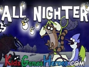 Play Regular Show - All Nighter