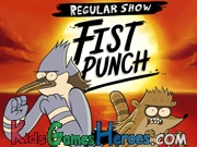 Play Regular Show - Fist Punch