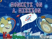 Play Rocket Monkeys - Monkeys on a Mission