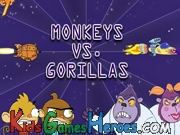 Play Rocket Monkeys - Monkeys vs Gorillas