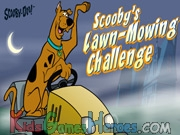 Play Scooby Doo - Lawn Mowing Challenge