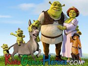 Play Shrek's Memory Game
