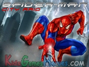 Kiz1000 Games - Spiderman City Raid