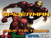 Play Spiderman - Save The Town 2