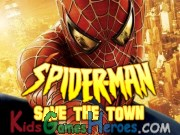 Play Spiderman - Save the Town