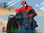 Play Spiderman - The Amazing Spider-Cycle