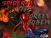 Spiderman Vs Green Goblin Icon