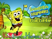 Play Sponge Bob - Food Catcher
