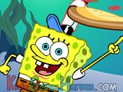 Play Sponge Bob - Pizza Toss