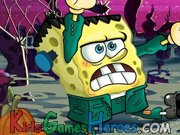 Play SpongeBob - Halloween Horror, FrankenBob's Quest, Part 1