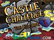 Play SpongeBob SquarePants - Castle Challenge - The Escape