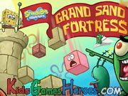 Play SpongeBob SquarePants - Grand Sand Fortress