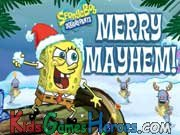 Play SpongeBob SquarePants - Merry Mayhem