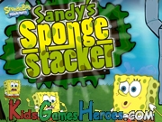 Play SpongeBob SquarePants - Sandys Sponge Stacker