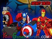 Play Super Hero Squad - Infinity Racers