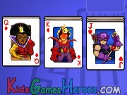 Play Super Hero Squad Solitaire
