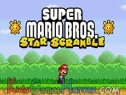 Play Mario Star Scramble