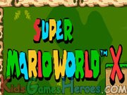 Play Super Mario World X