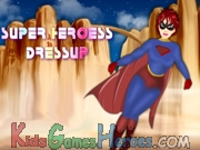 Superheroess Girl Dress Up Icon