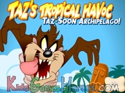 Play Taz's Tropical Havoc: Twister Island