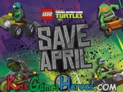 Play Teenage Mutant Ninja Turtles - Save April