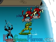 Play Teenage Mutant Ninja Turtles - Sewer Surf Showdown