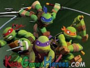 Play Teenage Mutant Ninja Turtles - Throw Back