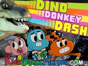 Play The Amazing World Of Gumball - Dino Donkey Dash