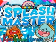 Play The Amazing World Of Gumball - Splash Master