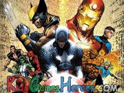 Play The Avengers - Hidden Alphabet