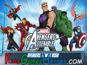 Play The Avengers - Tower Rush