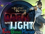 The Legend Of Korra - Dark Into Light Icon