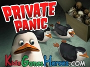 Play The Penguins of Madagascar - Private Panic