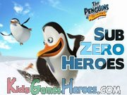 Play The Penguins of Madagascar - Sub Zero Heroes