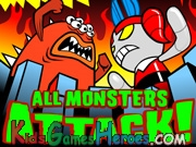 Play The Power Puff Girls - All Monsters Attack!