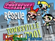 Play The PowerPuff Girls - Rescue From Townsville Zoo!