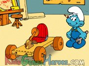 Play The Smurfs - Handy's Car