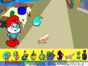 Play The Smurfs - Papa's Memory