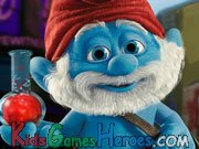 Play The Smurfs - Papa Smurf's Potion Commotion