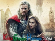 Play Thor The Dark World - Find The Letters