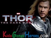 Thor The Dark World -  Movie Trailer Icon