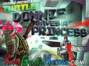 TMNT - Donnie Saves A Princess Icon