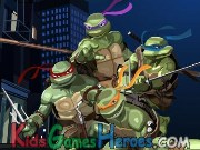 Play TMNT - Spot the Differences