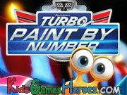 Turbo - Paint By Number Icon