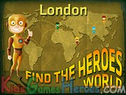 London - Find The Heroes World Icon