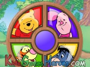Play Winnie the Pooh - Piglet's Round - A - Bout
