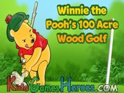 Play Winnie the Pooh - Wood Golf