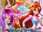 Play Winx Club - Dress Me Up