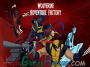 Play Wolverine Adventure Factory
